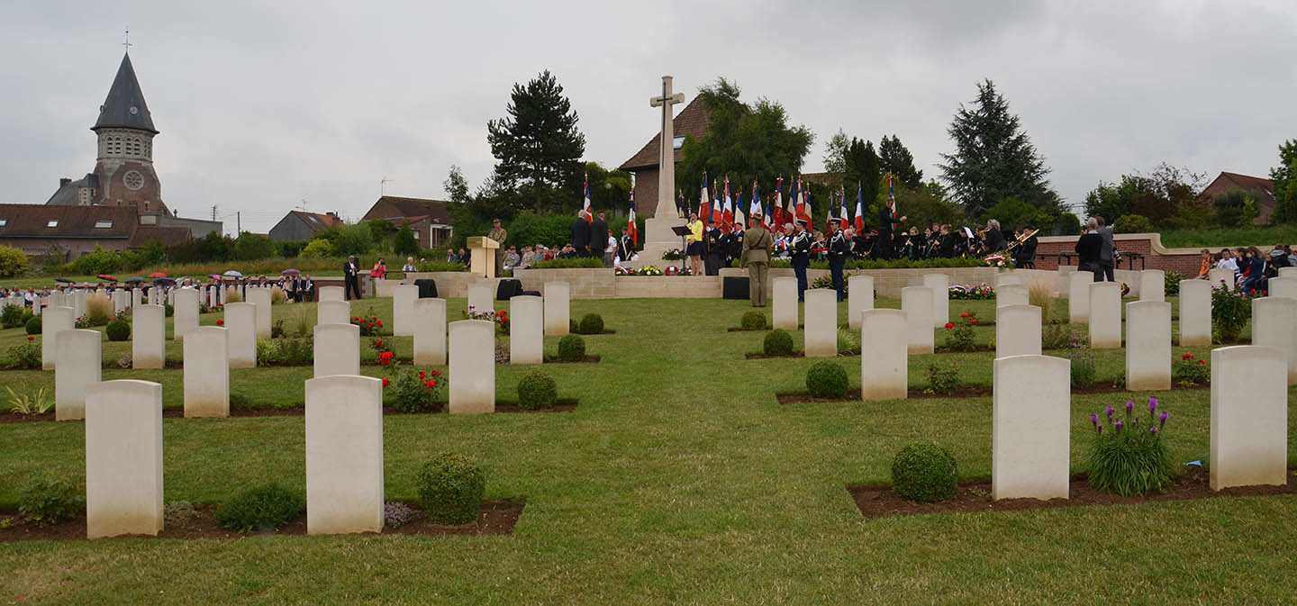 PheasantWood Cemetery, Fromelles, France