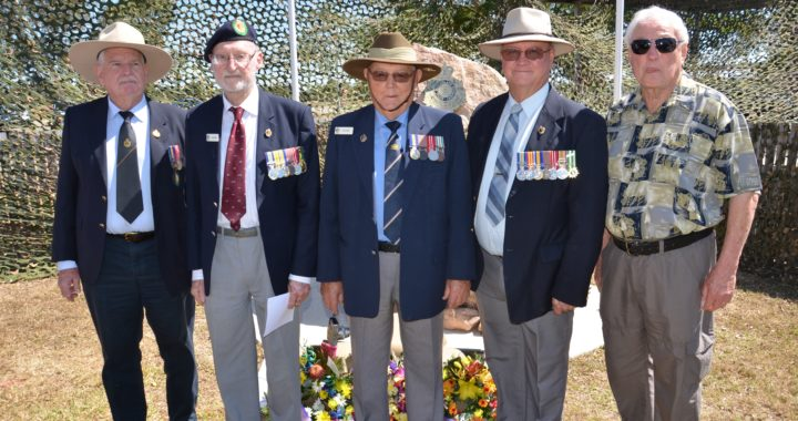 Mentioned in dispatches: Former Commanding Officers of the 31st Battalion (in recent times)…Colonel Gregory Stokie, LtCol Doug Moffett, Major Rod Golding, LtCol Chris Cummings and Major Neil Gist.