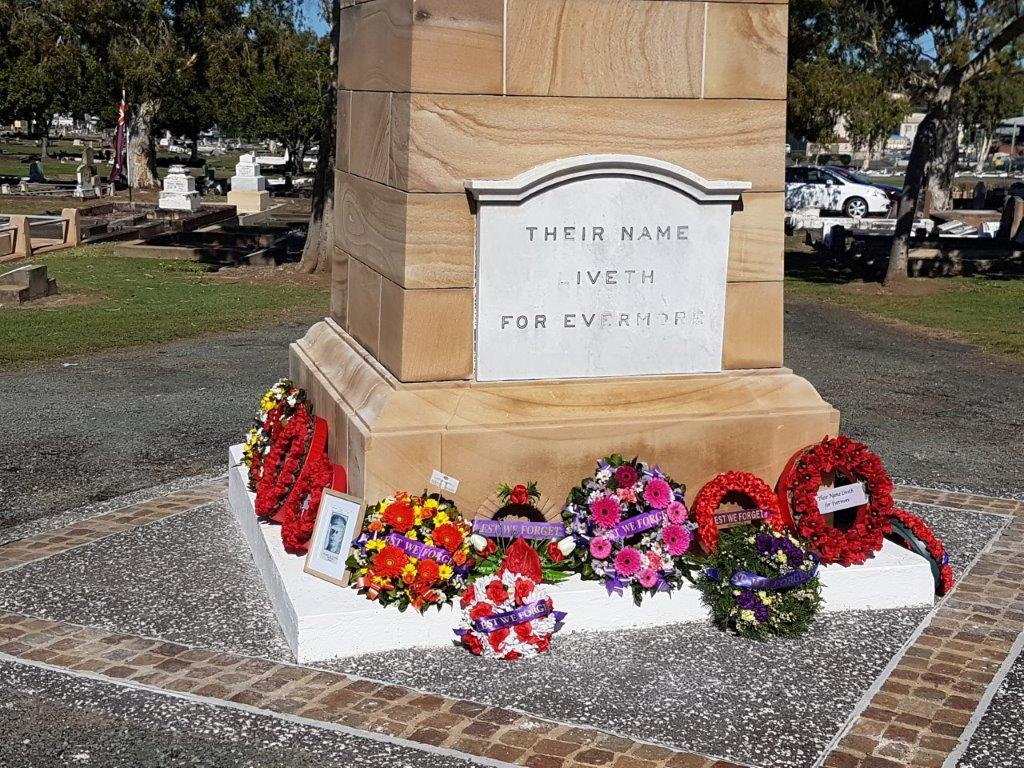 Cenotaph Ipswich Cemetery 19th Jul 2021